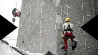 LOURDES Restauration de la tour de l'ascenseur