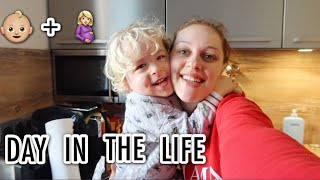 DAY IN THE LIFE OF A PREGNANT MOM AND TODDLER | Sara Dzodzo VLOG