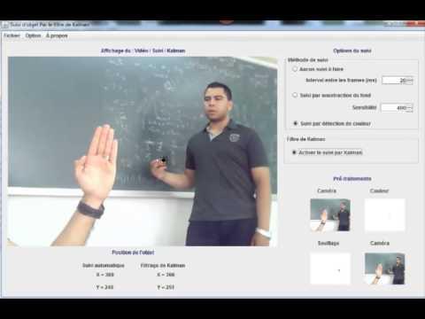 Object Tracking with Kalman filter (Java Programming language)