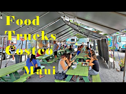 Food Trucks Costco Maui. Excellent Food Kahului. Best Food Value!