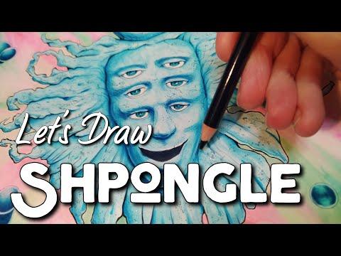 Shpongle Drawing - Fan Art Timelapse