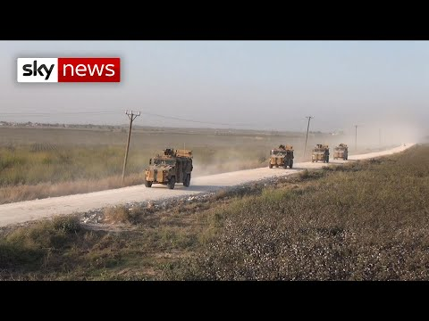Turkey starts ground offensive into Syria