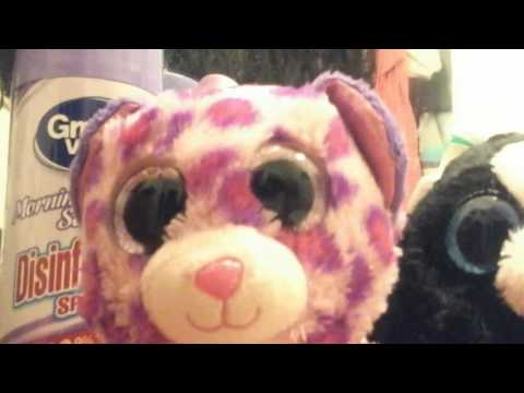 How to clean eyes on beanie boo