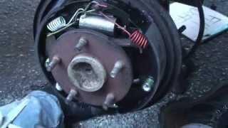 1997 ram 1500 rear drum brake service for the driveway mechanic
