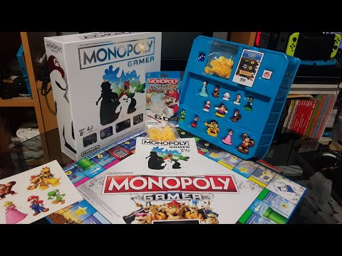 Monopoly Gamer Collectors Edition and Power Packs Unboxing