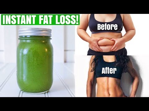 Drink THIS To Lose Weight Everyday! | Miracle Belly Fat Burner No Exercise No Diet (INSTANT RESULTS)