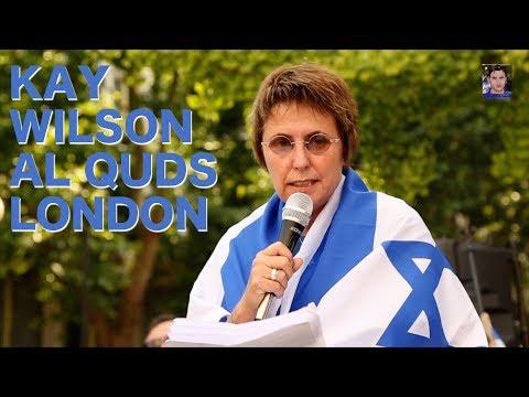 Kay Wilson Al Quds Counter Protest full speech June 18 2017, London
