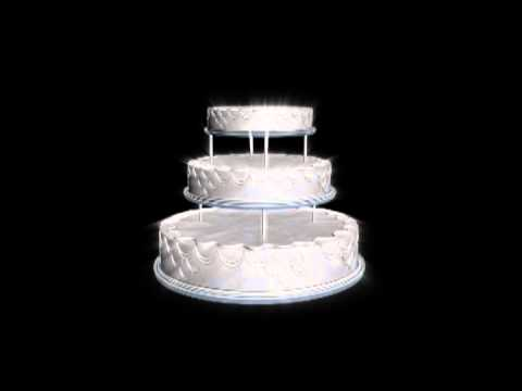 happy birthday animated cake Looping Free video download YouTube