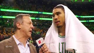 Jayson Tatum says he's benefiting from Celtics' winning tradition   ESPN