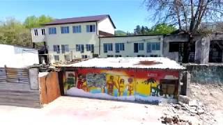 """Лазаревское   Пляж""""Гренада"""" после пожара(24.04.2018)"""