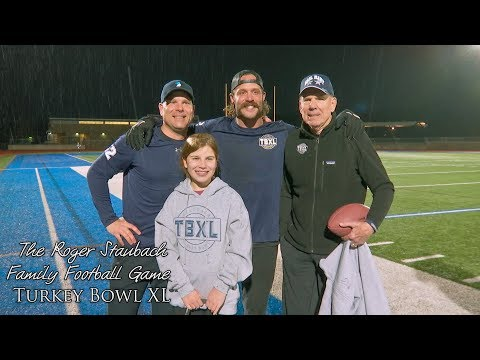 The Roger Staubach Family Football Game - 2019
