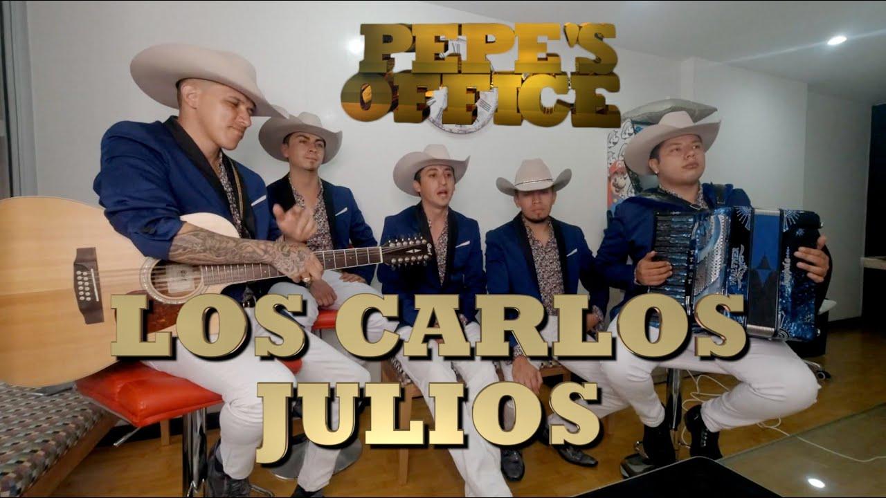 LOS CARLOS JULIOS DESDE COLOMBIA PONEN EN ALTO EL SONIDO DEL REGIONAL MEXICANO -Pepe's Home Office