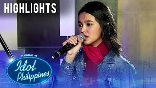 Zephanie Dimaranan - Top 12 Mentoring Session | Live Round | Idol Philippines 2019