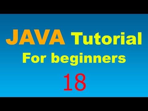 Java Tutorial for Beginners - 18 - Void and Return Methods