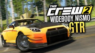 The Crew 2 | MAXED OUT WIDEBODY NISMO Nissan GTR R35 Customization (280)