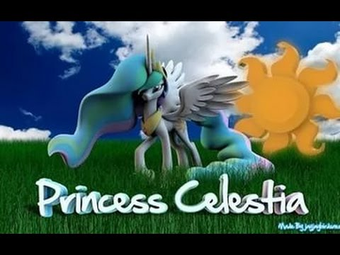3D pony Creator pony Celestia