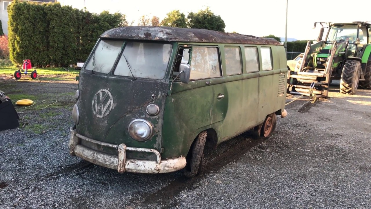 1962 Vw Bus Look Over Video 1 Youtube
