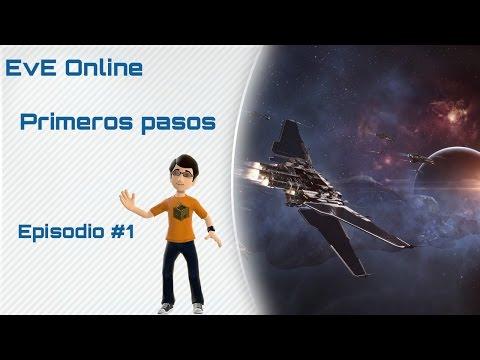Eve Online – Gameplay en español – Como empezar #1 Introducción a Eve Online y combate npc.