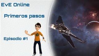 Eve Online - Gameplay en español - Como empezar #1 Introducción a Eve Online y combate npc.