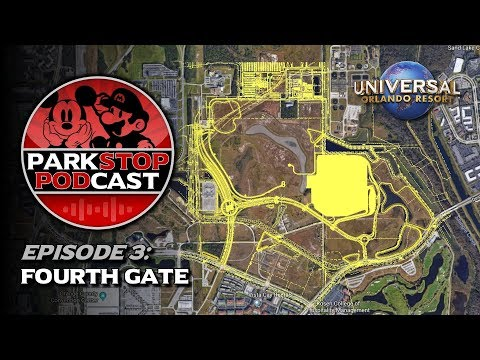 Universal Orlando's 4th Gate - ParkStop Podcast: Episode 3