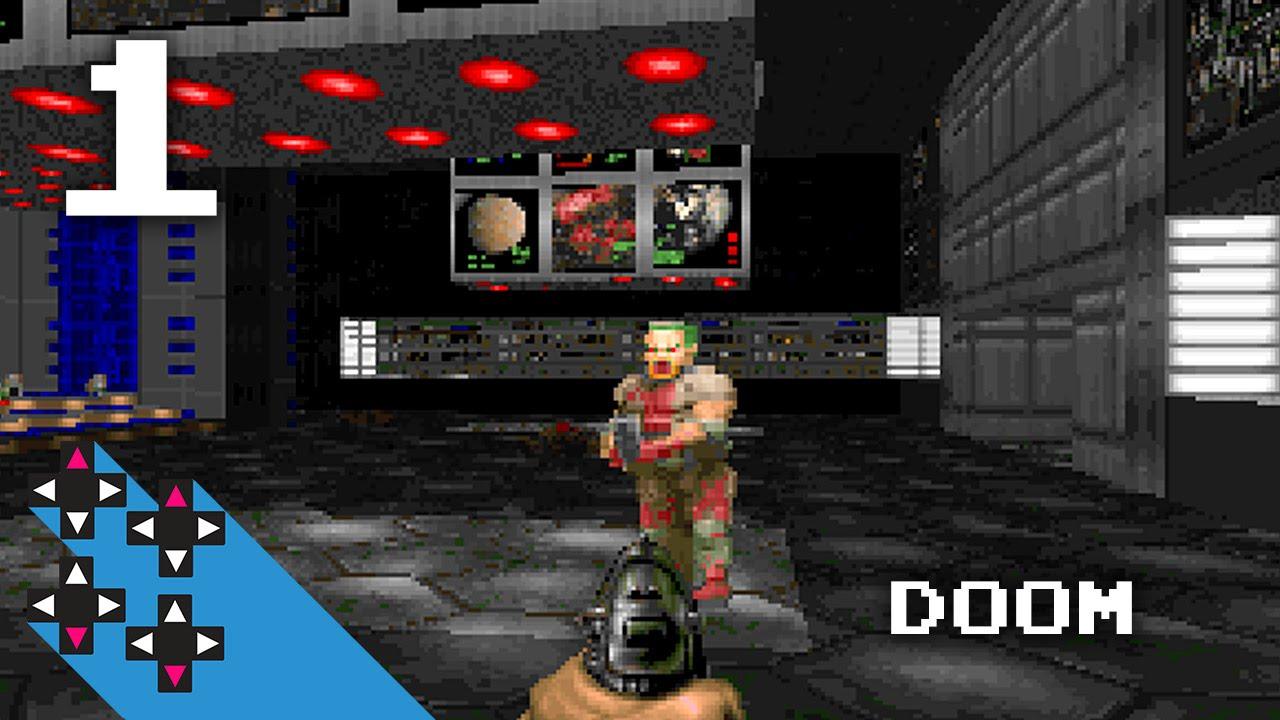 Secret Doors And Chain Gun Action Doom Part 1 The Retro Stream