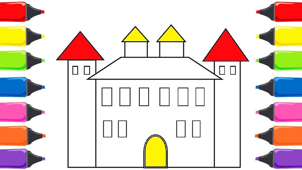 Prenses Evi Boyama Renkleri Ogreniyorum Sihirli Kalemler