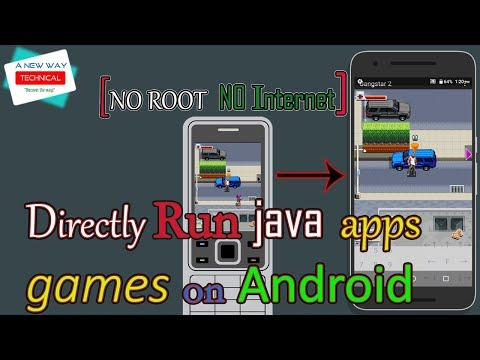 Directly Run Java Apps On Android Without Root Or Without Internet | How To Run .jar File On Android