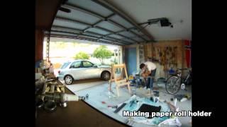Children's Art Easel Construction Time-lapse