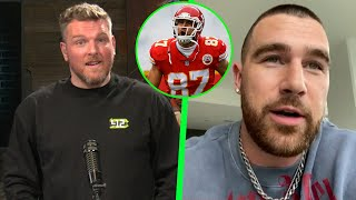 Pat McAfee & Travis Kelce Talk Super Bowl Loss and The Chiefs Future