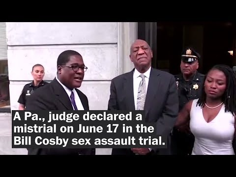 Judge declares a mistrial in Bill Cosby sex assault trial