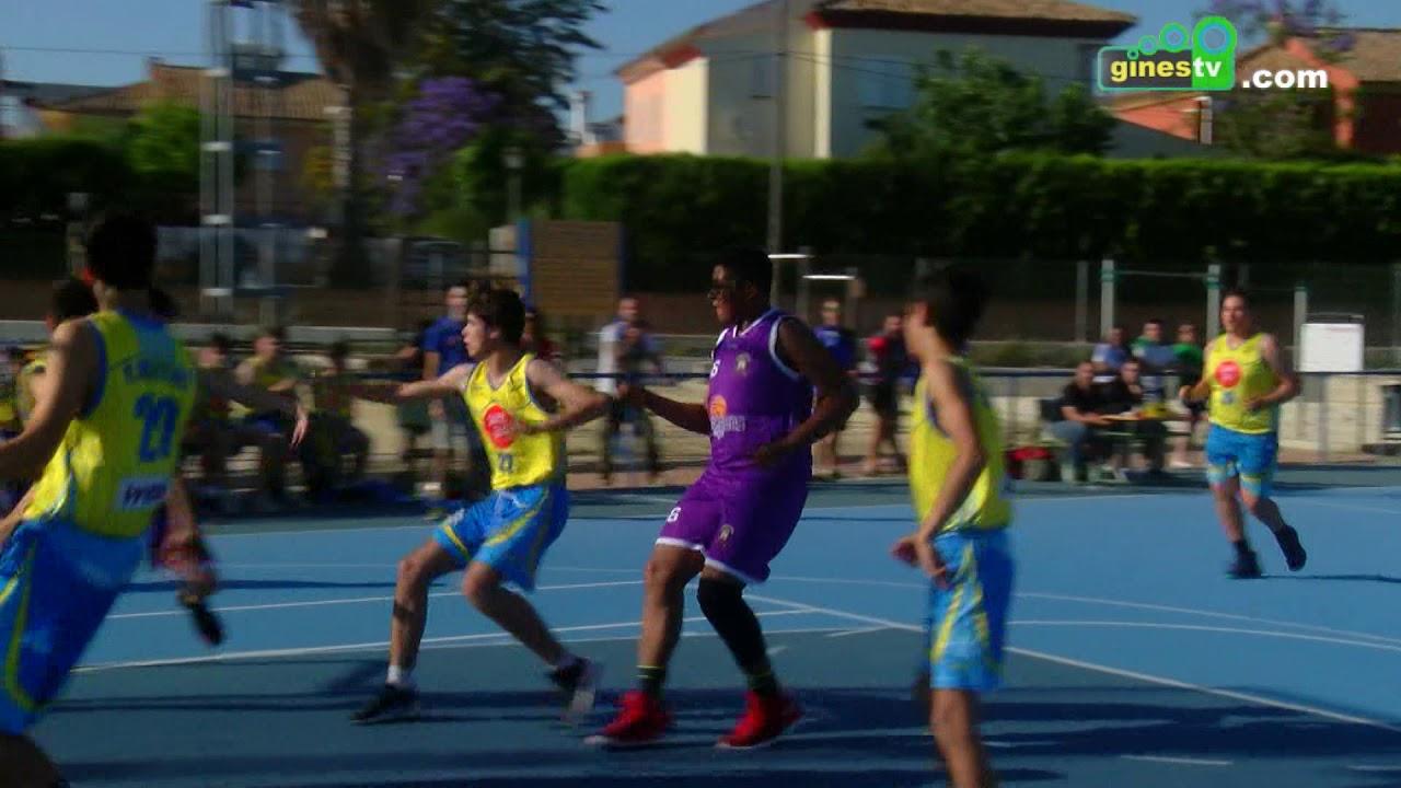 """El cadete masculino """"azul"""" del CD Gines cae derrotado, en partido aplazado, ante el C.B. Paradas"""