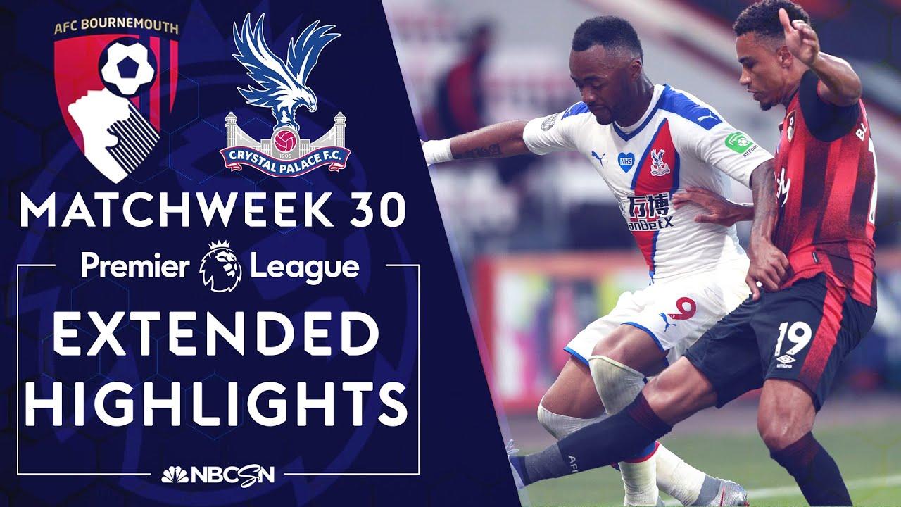 Bournemouth v. Crystal Palace   PREMIER LEAGUE HIGHLIGHTS   6/20/2020   NBC Sports