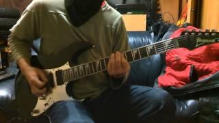 自己満足のギター遊びー撮ってみましたー.