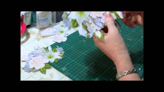 Cup Tv Episode 173 - Robyn Cockburn Makes Bowl Of Florals Shaped Card