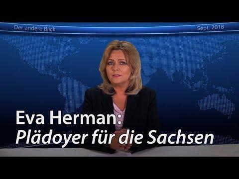 Eva Herman: Plädoyer für die Sachsen