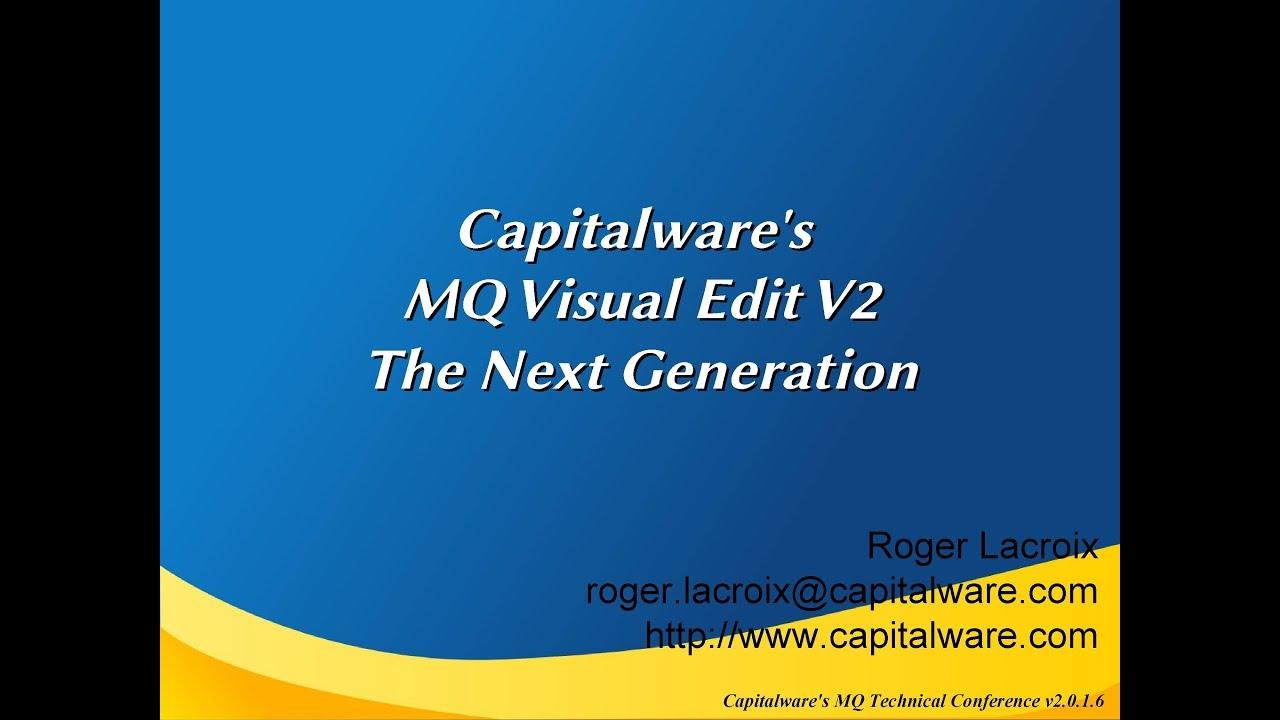 MQ Visual Edit free download for windows 7 32bit last