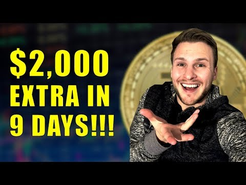 Making $2,000 Extra In 9 Days WITHOUT Lifting a Finger!!!! Cryptocurrency Update