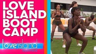 Exclusive: Gerard runs an Islander boot camp | Love Island Australia 2019