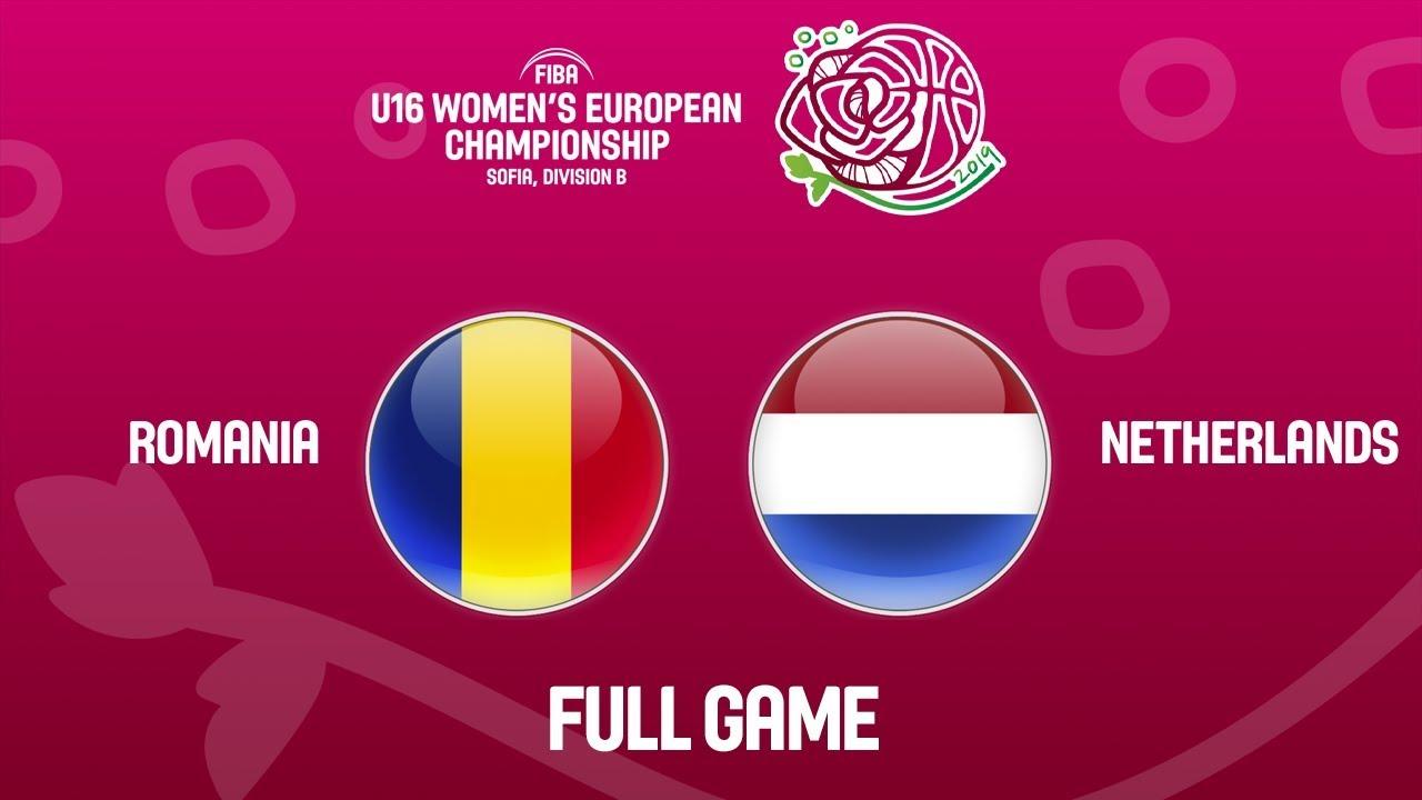 Romania v Netherlands - Full Game - FIBA U16 Women's European Championship Division B 2019