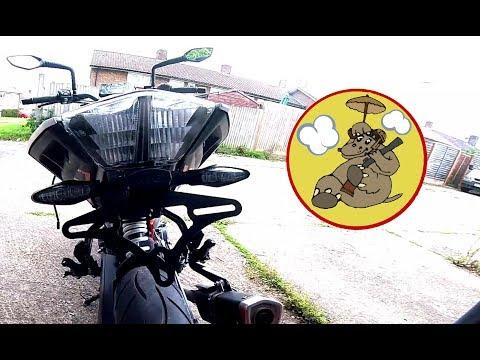 ,  &  KTM  (& ,  & ) Duke - R&G Tail Tidy & Paddock Stand Bobbins Fitment