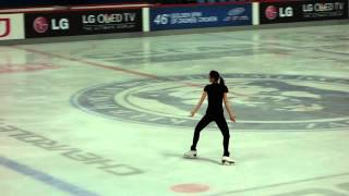 """Adiós Nonino"" Official Run-through - Yuna Kim (Yu-na Kim) @ Golden Spin of Zagreb, 20131205"