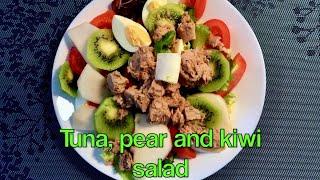 Салат с Тунцом и Грушей.