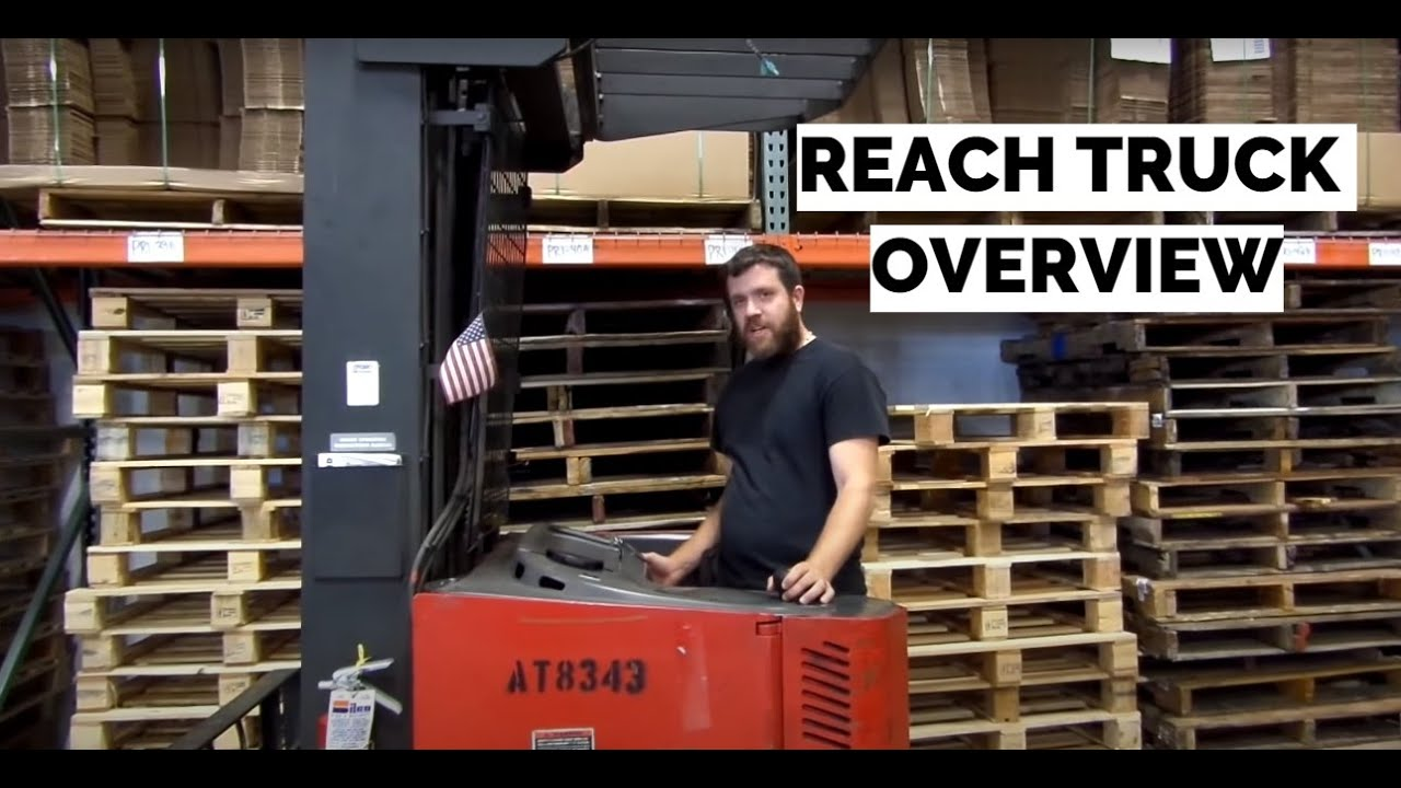 Raymond Reach Truck Basic Training Crash Course Control Overview