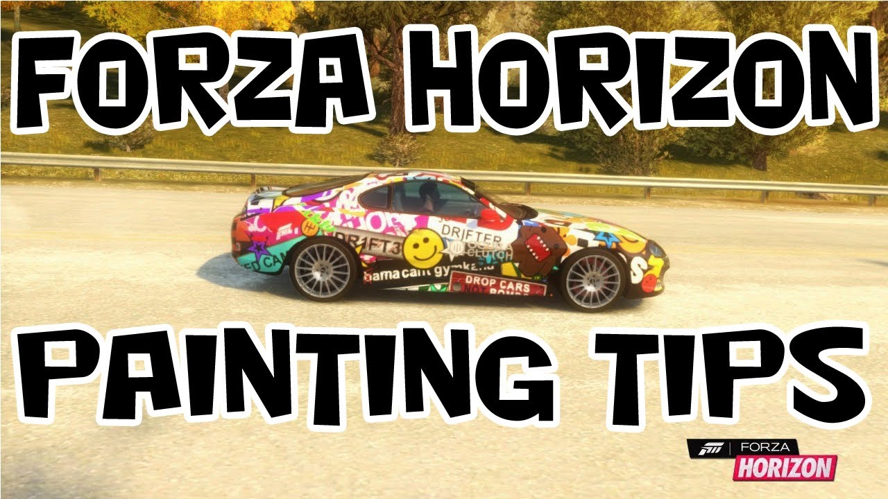 Forza Horizon  Make Paint Jobs