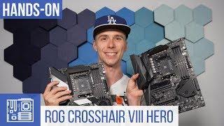 Asus ROG Crosshair VIII Hero Unboxing & Vergleich mit Crosshair VII Hero
