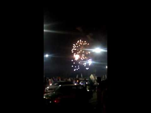 14 aug Pakistan independence day firework in islamabad