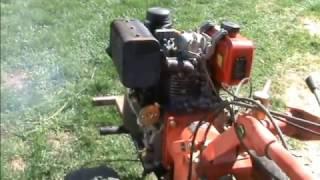 Ремонт мотоблока // Топливная система дизельного двигателя 178F.  Рычажки и пружинки. Часть 4.3.
