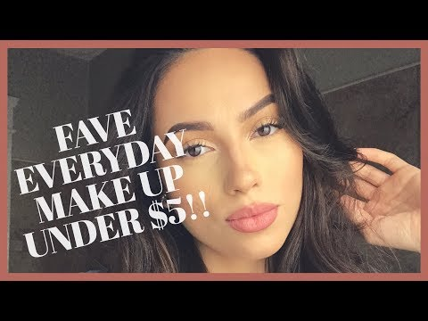 TOP QUALITY MAKEUP UNDER $5!!!! | RUBY MARTINEZ