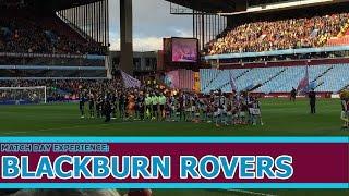 Aston Villa vs Blackburn Rovers 2-1 Match Day Experience