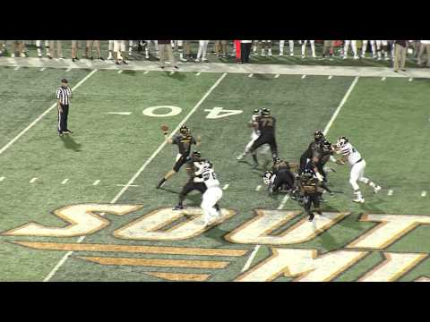 Southern Miss vs. Mississippi State Football Highlights